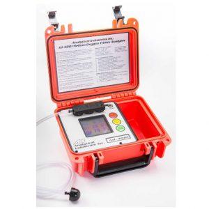 Trimix 4001 潛水用氧氣/氦氣混合氣分析儀